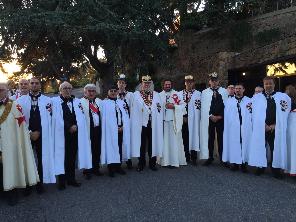 Komturei-Gründung Rom 2015