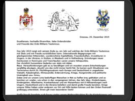 Weihnachtsbrief 2015